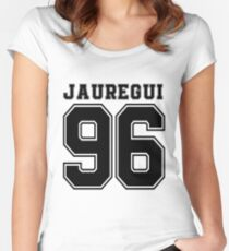 Fifth Harmony - Lauren Jauregui ' 96 Women's Fitted Scoop T-Shirt