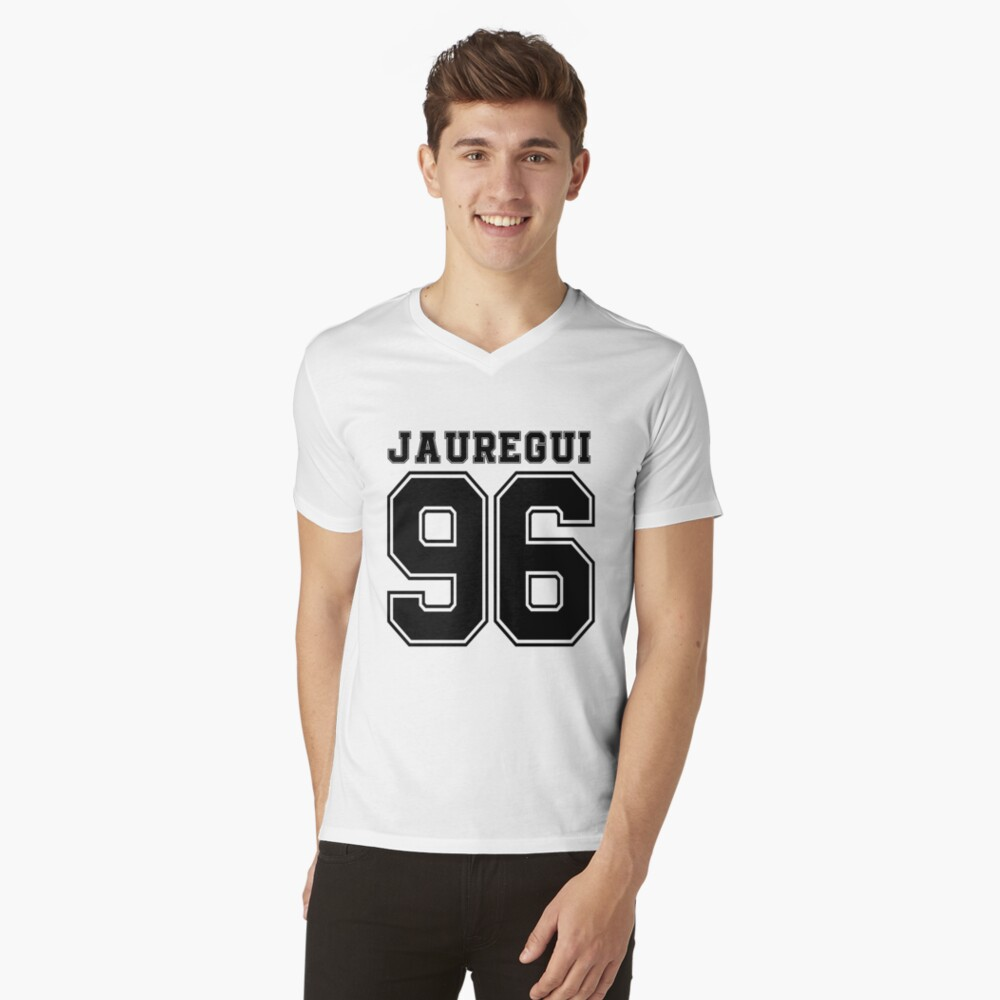 Fifth Harmony - Lauren Jauregui ' 96 Mens V-Neck T-Shirt Front