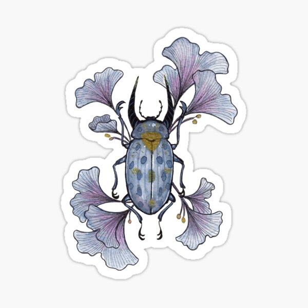 Ginkgo (Light Background) Sticker