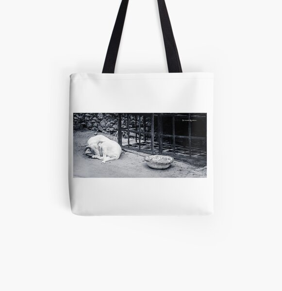 The Starving Goat All Over Print Tote Bag