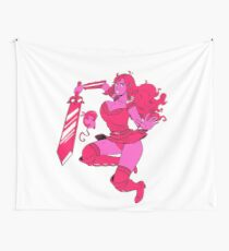Lusty Attack - Multicolour Wall Tapestry