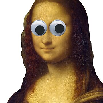 Mona Lisa Is Watching You by ghjura