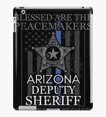 Arizona Sheriff Deputy Prayer Sheriff Deputy Gifts iPad Case/Skin