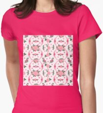 Floral Background. Seamless Pattern. Flowers and Leaves. Vintage Flowers. Floral Elements.  T-Shirt