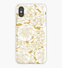 Panzy Royal Gold iPhone Case