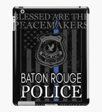 Baton Rouge Police Support Blessed Peacemakers iPad Case/Skin