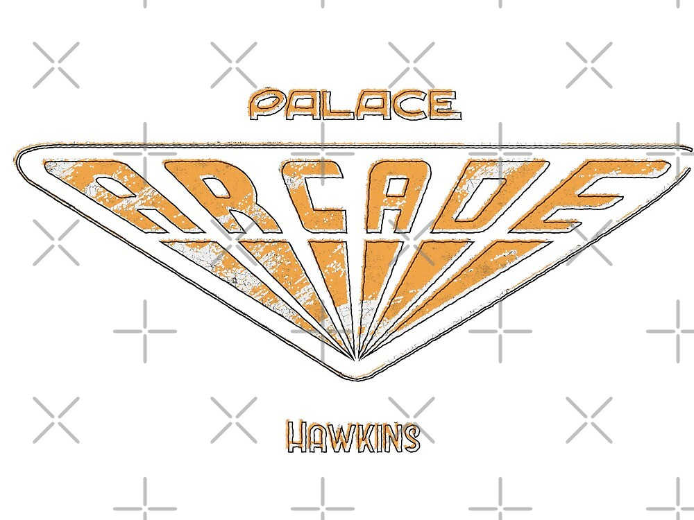 Palace Arcade Retro by mctees