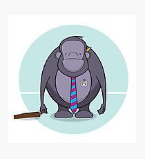 Monkey Business - Meet Tony Photographic Print