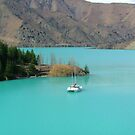 Sailing on the Turquoise Lake by FeBe