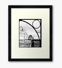 St Kilda Pier Framed Print