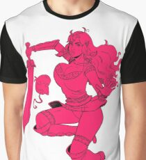 Lusty Attack - One colour Graphic T-Shirt