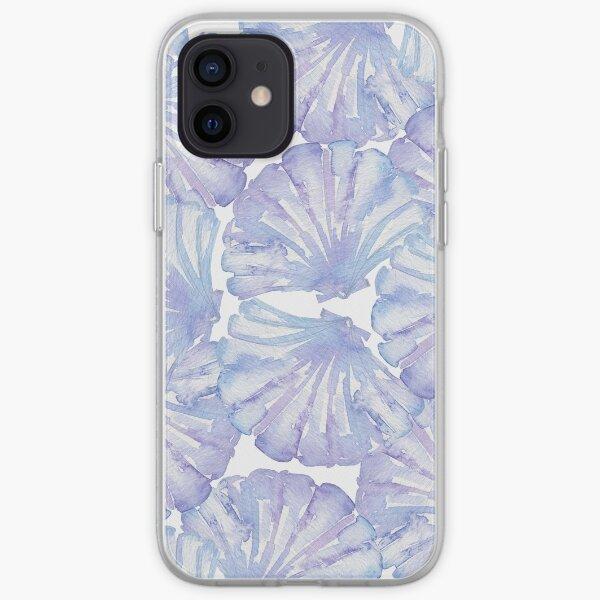 Shell Ya Later - Purple Seashells iPhone Soft Case