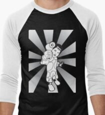 Bubble Jake by Dibuk Men's Baseball ¾ T-Shirt