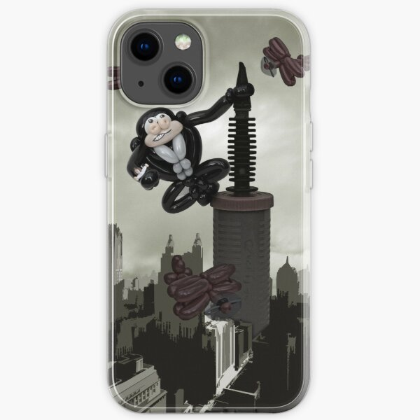 It was beauty that popped the beast iPhone Soft Case