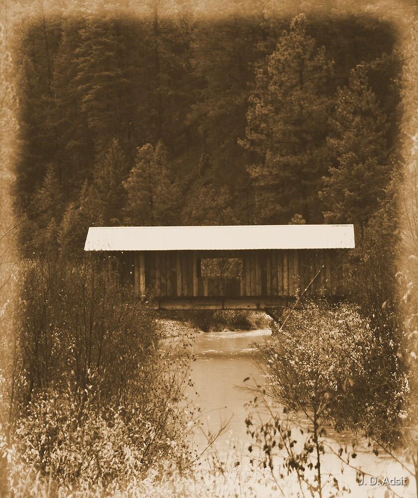 Covered Bridge by J. D. Adsit