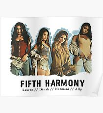 Fifth Harmony - Lauren / Dinah / Normani / Ally (Group) Poster