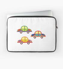 little cars - cartoon cars - colorful cars - little cars Laptop Sleeve