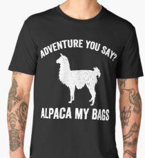 Adventure you say? Alpaca my bags Men's Premium T-Shirt