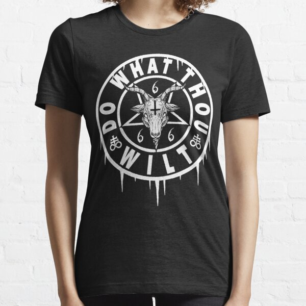 DO WHAT THOU WILT - OCCULT BAPHOMET Essential T-Shirt