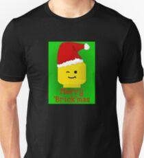 Merry Christmas Santa Minifig by Customize My Minifig Unisex T-Shirt