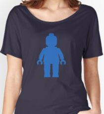 Minifig [Blue] Women's Relaxed Fit T-Shirt