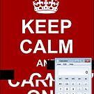 Keep calm and.. Calc! by Ange Albertini