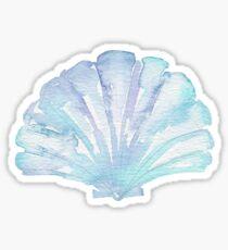 Shell Ya Later - Turquoise Seashell  Sticker