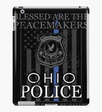 Ohio Police Support Peacemakers Police Mom Shirt iPad Case/Skin