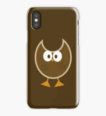 Cartoony Owl iPhone Case