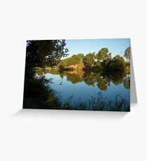 Yabba Yabba Creek Greeting Card