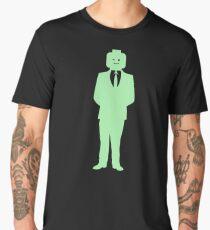 Minifig Business Man  Men's Premium T-Shirt