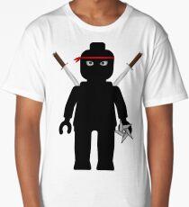 Ninja Minifig / TMNT Foot Soldier Long T-Shirt