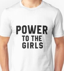 Power To The Girls - Supergirl Clothing T-Shirt
