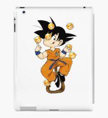 Goku the juggler monkey iPad Case/Skin