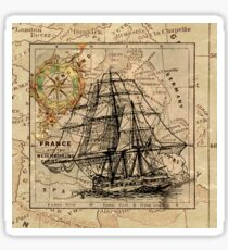 Vintage sailing Sticker
