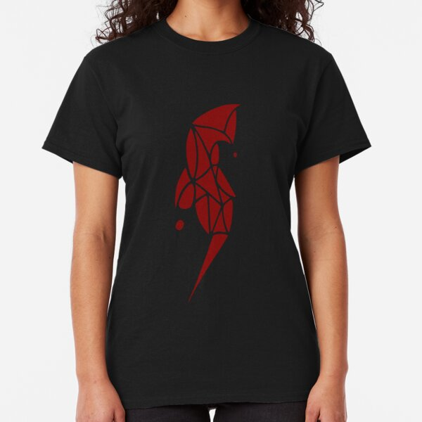 Red Lady - Dark Classic T-Shirt