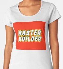 MASTER BUILDER Women's Premium T-Shirt