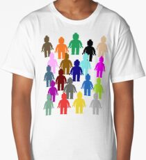 United Colors of Minifig [Large]  Long T-Shirt