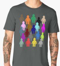 United Colors of Minifig [Large]  Men's Premium T-Shirt