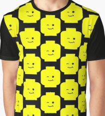 Minifig Winking Head  Graphic T-Shirt