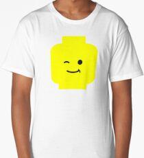 Minifig Winking Head  Long T-Shirt