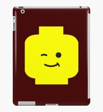 Minifig Winking Head  iPad Case/Skin
