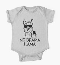 No Drama Llama One Piece - Short Sleeve
