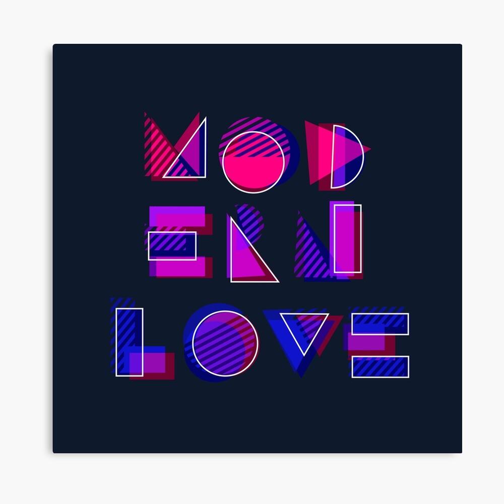 Modern Love (bonus) Canvas Print