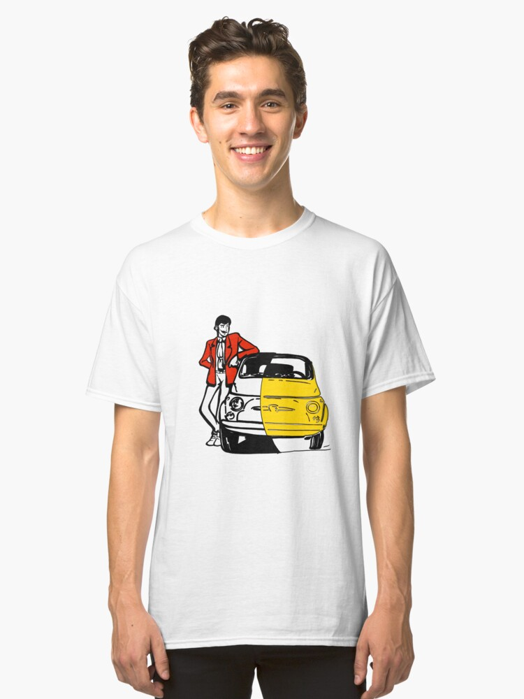 lupin 3 Classic T-Shirt Front