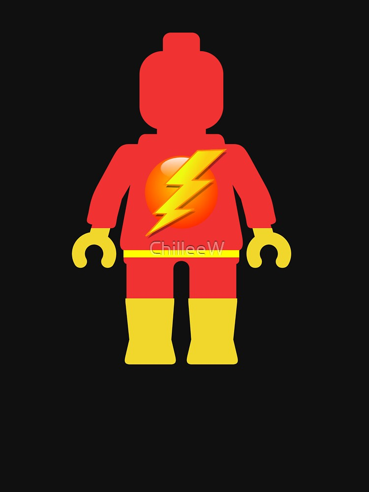 Lightning Minifig by ChilleeW