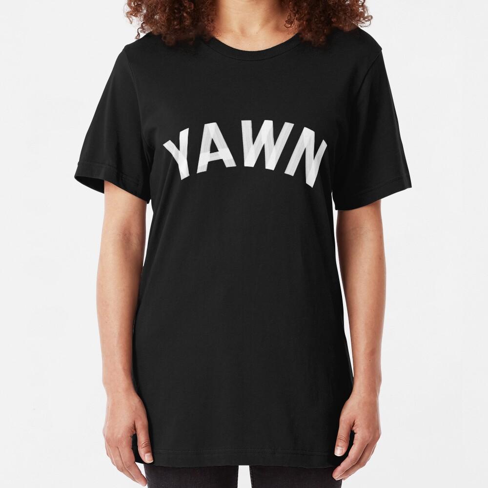 Yawn Slim Fit T-Shirt