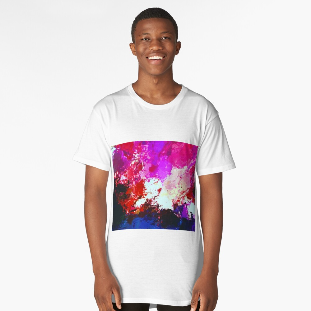 Sunset Over Forest  Long T-Shirt Front