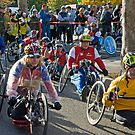wheelchair division race start by marianne troia