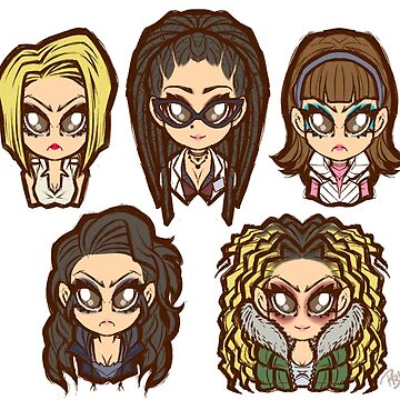 Orphan Black Chibis by Poofette